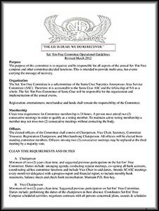 Set Em Free guidelines image